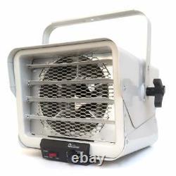 Dr. Infrared Heater 3000-watt/ 6000-watt DR-966 240-Volt Silver