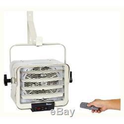 Dr Infrared Heater 7500-Watt 240-Volt Hardwired Shop Garage Electric Heater