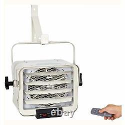 Dr. Infrared Heater DR-975 7500-Watt 240-Volt Hardwired Shop White
