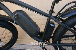 E Bicycle Bafang Suspension 750 Watt Fat Tire F-55 Electric Bike 48 Volt
