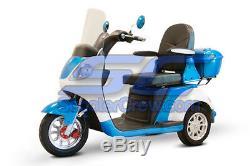 EW-42 Electric EV Trike 3 Wheel 800 watt 60 volt Captains Chair 45 Mile Distance