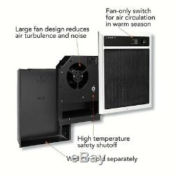 Electric In-Wall Fan-Forced Heater Assembly 4,000-Watt 240/208-Volt with Grill