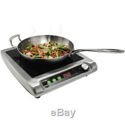 Electric Mirage Pro Single Countertop Induction Cooker Ranges 120 Volt 180 Watt