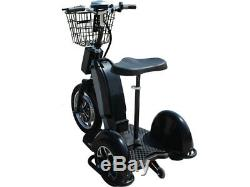Electric Trike 800 Watt Hub Motor Scooter 48 Volt Head Light Storage Basket EV