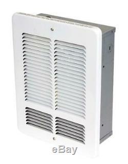 Electric Wall Heater, 1000-Watt / 120-Volt KING W1210-W W Series, White