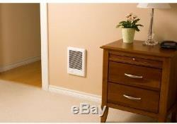 Electric Wall Heater 9 in. X 12 in. 1500-Watt 120-Volt Fan-Forced In-Wall Heater