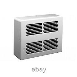Electric Wall Heater Space Surface Mounted 2250-Watt 7677 BTU 240-Volt White