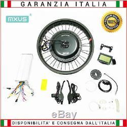 Electric bike conversion kit for fat bike 1500 watt 48 volt rear rim 20 inch