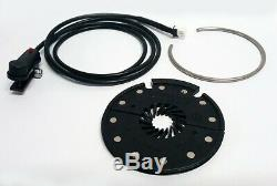 Electric bike conversion kit for fat bike 500 watt 36 / 48 volt rear rim 20 inch