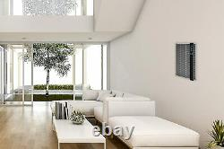 FAHRENHEAT 120 Volt 1,500 Watt 5120 BTU/H Electric Wall Heater FSSWH1502 Gray
