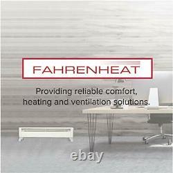 FBE15002 Portable Electric Hydronic Baseboard Heater, 1500 Watt, 120 Volt