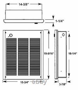 Fahrenheat FZL4004 240-volt High Output Forced Air Heater 4000-watt