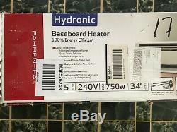 Fahrenheat PLF754 BASEBOARD HEATERS, Navajo White, 34, 750 Watt, 220 volt