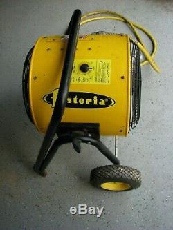 Fostoria FES-1548-3E 15000 Watt Electric Fan Forced Room Heater 480 Volt 3-phase