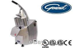 General Commercial Vegetable Cutter 220 Volts 1100 Watt Model Gsv112