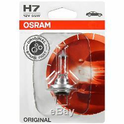 Halogen Headlight Left for Kia pro Ceed Ed 02.08- H7/H1 Incl. Osram