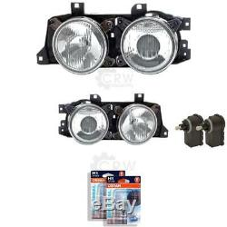 Halogen Headlight Set for BMW 5er E34 Year 09/88-10/95 H1 Incl. MO 57197647