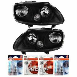 Headlight Set For VW Touran 1T 01.03-09.06 For VW Caddy III 2K 03-12 Black