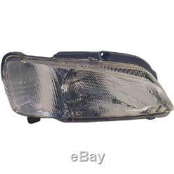 Headlight Set Peugeot 106 II H4 Incl. Osram Incl. Motor