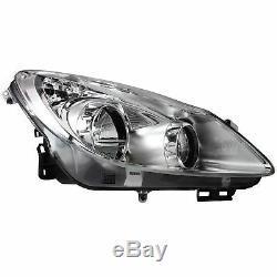 Headlight Set Vauxhall Corsa D 3 5-Türig Chrome Incl. Lamps Motor