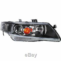 Headlight Set for Honda Accord CL/CM with Indicator Incl. Motor