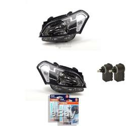 Headlight Set for Kia Soul 02/09-10/11 H4 with Indicator Incl. Motor