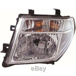 Headlight Set for Nissan Navara Pathfinder D40 R51 05-10 Incl. Osram H4 + Motor