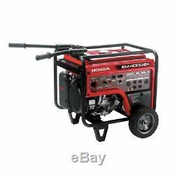 Honda EM4000S 270cc 4,000-Watt 120/240-Volt Electric Start Gasoline Generator