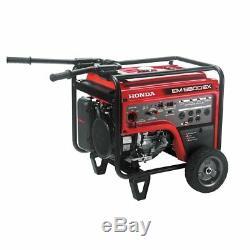 Honda EM6500S 389cc 6,500-Watt 120/240-Volt Electric Start Gasoline Generator