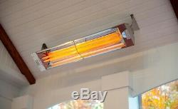 INFRATECH 39 5,000 Watt 240 Volt Wall Mount Electric Infrared Patio Heater
