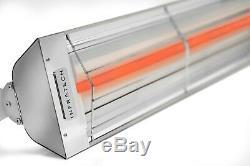 INFRATECH 61-1/4 3,000 Watt 240 Volt Wall Mount Electric Infrared Patio Heater