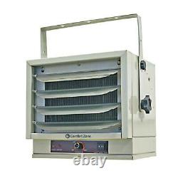 Industrial Fan-forced Ceiling Mounted Heater FURNACE 5000 Watt Portable 240 Volt