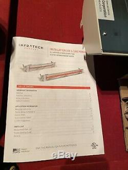 Infratech 4,000 Watt, 240 Volt Single Element Electric Patio Heater