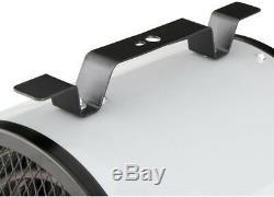 KING 240-Volt Portable Shop Heater 4000-Watt Heat RV Garage Built-in Thermostat