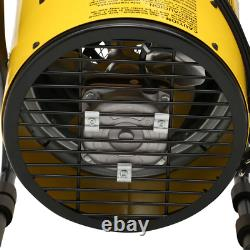 KING Shop Space Heater 1500-Watt 120-Volt Electric Portable Built-in Thermostat