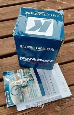 Kalkhoff agattu Electric Bike Barely Used. 612 Watt 36 volt 17AH 100% Battery