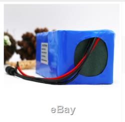Lithium Battery 10AH 24V Volt Rechargeable Bicycle Bike Electric Assisted E Watt