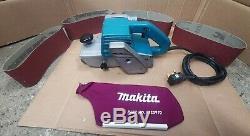 MAKITA 100mm 4 BELT SANDER 9401 DUST BAG 1040 WATT 240 VOLT ELECTRIC