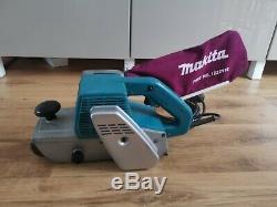 MAKITA 100mm 4 BELT SANDER 9401 DUST BAG 1040 WATT 240 VOLT ELECTRIC Serviced