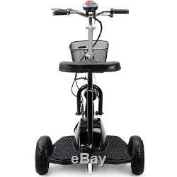MT-TRK-350 EV Electric Mobility Scooter MotoTec 350 Watt Basket 36 Volt Travel