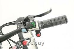 Mint Green TC-36 Electric 350 Watt 36 Volt Step-Through Women's Mountain Bicycle