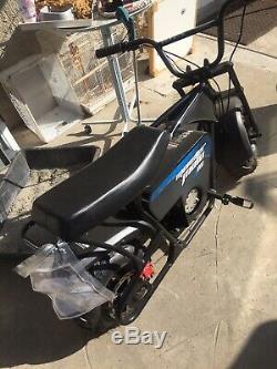 Monster Moto 36volts 1000 Watt Electric Minibike Mini Bike Moped Chopper Scooter
