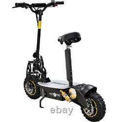 Moto Tec 2000 Watt 48 Volt 12ah High Powered Folding Electric Scooter