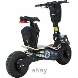 MotoTec Mad 1600 Watts 48 Volt Electric Scooter