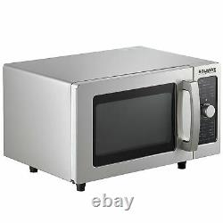 NEW 1000 Watt Stainless Steel Electric Microwave with Dial Control, 120 Volt