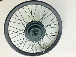 NEW Bafang 36 Volt 350 Watt Rear Geared Hub Motor with20 inch Electric Bike