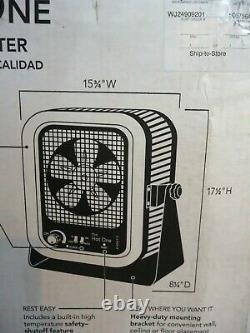 NIB The Hot One RCP502S 5000-Watt 240-Volt Electric Garage Portable Heater
