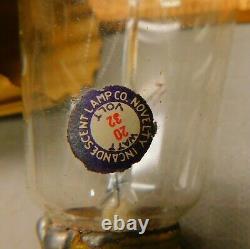 NILCO Novelty Incandescent Lamp Co. Five 32 Volt 20 Watt Electric Light Bulbs