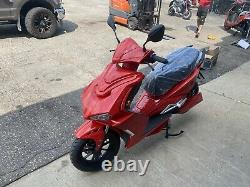 NO SHIPPING Ebike 72 Volt Electric Scooter Electric Moped Bluetooth 2000 Watt