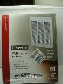 New Fahrenheat 240-Volt 4,000-Watt 10236 BTU/Hour Electric Wall Heater